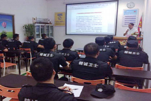 Security professional training